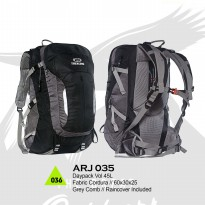 Tas Gunung Daypack Backpack Carrier Trekking 45 Ltr ARJ035