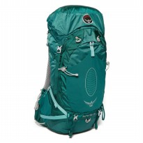 Osprey Tas Carrier Outdoor Backpack Aura AG 65 W/ Raincover Rainforest Green