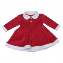 George Baby Dress Christmas