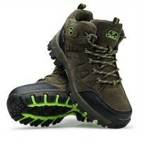 Sepatu SNTA 608 Green Boot/Gunung/Hiking/Wanita/Outdoor/Adventure