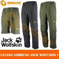 Celana sambung Jack Wolfskin JWS Outdoor Quickdry for Gunung hiking
