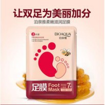 BIOAQUA 7+ FOOT MASK KEEP SKIN YOUNG AND BEAUTIFUL MASKER KAKI BIOAQUA
