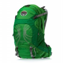OSPREY STRATOS 34 PINE GREEN M/L Tas Outdoor Ransel Carrier Backpack