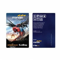 Mandiri eMoney Spiderman Edition - Vulture Fight (ASLI)