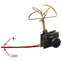 FPV Combo 3 in 1 600TVL Mini Camera 5.8GHz 40CH 25Mw
