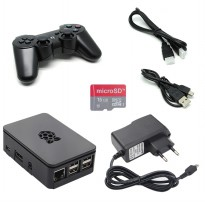 Raspberry Retropie Game Kit P3 - Black
