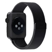 Milanese Watchband untuk Apple Watch 42mm Series 1/2/3 - Black