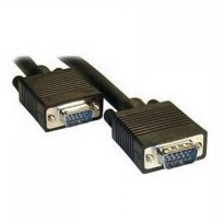 Kabel VGA 15 Pin Male to Male Cable For LCD Monitor / Projector 20m