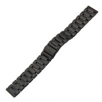 Stainless Steel Strap Watch Band 3 Pointer for Samsung Gear S3 - Black