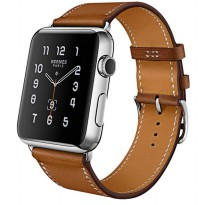 Tali Jam Tangan Leather Watchband Apple Watch Series 1/2/3 38mm - Brown