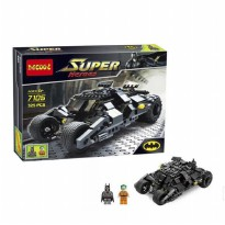 DECOOL 7105 BATMOBILE SUPER HEROES