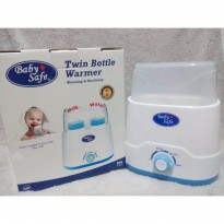 [Terbatas] BABY SAFE Twin Bottle Warmer 4in1/Sterilisasi, Menghangatkan Susu