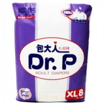 Dr.P Diapers XL8 Basic