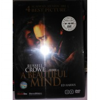 Kaset Film DVD Original beautiful Mind