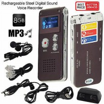 USB Digital Voice Recorder 8GB Mp3 Player