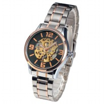 ESS Jam Tangan Mechanical - WM473 - Silver/Gold