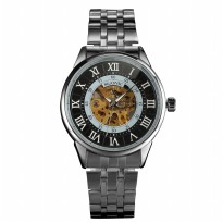 ESS Jam Tangan Mechanical - WM479/480 - Silver Black