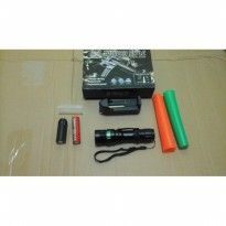 senter swat police powerstyle c2 2 ( doble ) cone lalin camping
