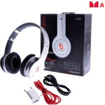 Headset Musik Bluetooth Stereo Beats S450