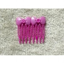 Jepit Jepitan Penjepit Sisir Sirkam Rambut Korean Polka Dot Kids Hair Combs