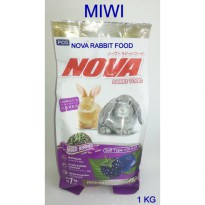 Best Seller !! Makanan Kelinci NOVA Rabbit Food Mixed Berries Flavor Original