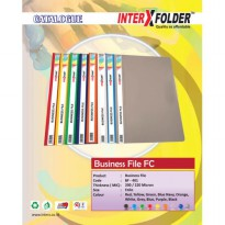 [Inter X] Folder Business File F4 - Putih (Pak 12 Pcs)