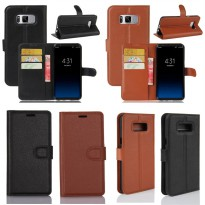Wallet Stand Leather Case Samsung Galaxy S8