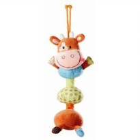 [poledit] HABA Lilliputiens, Vibrating Dancing Stroller/Crib Vicky the Cow Toy (R1)/12194943