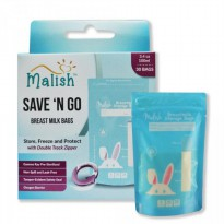 Kantong ASI Ibu Menyusui Malish Save and Go 100ml - 631