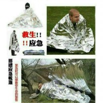 Selimut Darurat Thermal Bivvy Emergency Blanket Survival Camping