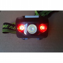 Headlamp AntiAir Outdoor Senter Kepala Camping UltraLight LED