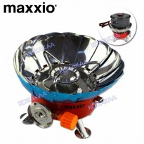 Maxxio Wind-Proof Kompor Portabel Anti Angin Camping Portable Stove