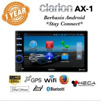 Clarion AX-1 Android Head Unit Double Din 2-din AX1 Tape Audio Mobil