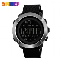 SKMEI Jam Tangan Olahraga Smartwatch Bluetooth Small - 1285 - Black