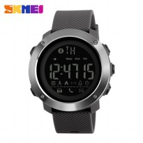 SKMEI Jam Tangan Olahraga Smartwatch Bluetooth Small - 1285 - Gray
