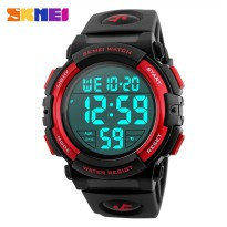 SKMEI Jam Tangan Sporty Pria - DG1258 - Black/Red