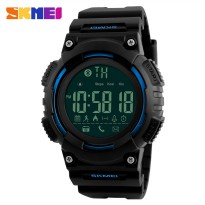 SKMEI Jam Tangan Sporty Smartwatch Bluetooth - 1256 - Blue