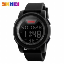 SKMEI Jam Tangan Trendy Digital Pria - DG1218 - Black