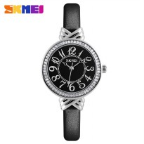 SKMEI Jam Tangan Wanita Beauty Glowy Fashion - 9162 - Black