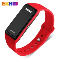 SKMEI Wristband Jam Gelang LED - 1265A - Red