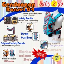 Baby Scots 2 Go 04 Baby Carrier Gendongan Bayi