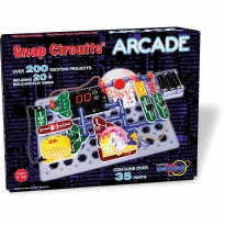 Snap Circuits Arcade Electronics Discovery Kit by Elenco