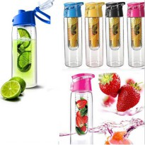 Tritan Water Bottle With Fruit Infuser 2nd Generation / Botol Tritan Generasi 2