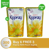 Kispray Refill Pouch Segeris Buy 6 FREE 3