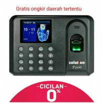 Mesin Absensi Fingerprint Solution P206