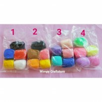 Paket JOYFULL CLAY bahan clay resin air dry clay kerajinan tangan