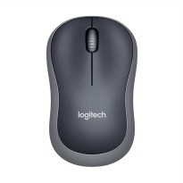 Logitech Mouse Wireless B175 - Hitam