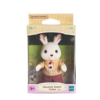 SYLVANIAN CHOCOLATE RABBIT FATHER