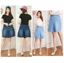 Cj collection Celana rok jeans pendek hotpant wanita jumbo short pant Windi
