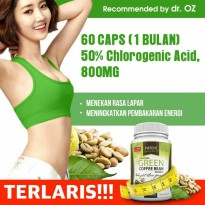 POTENT Green Coffee Bean Extract 100% PURE - Pelangsing Diet Tubuh